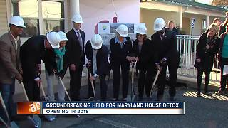 Groundbreaking for Maryland House Detox - Video