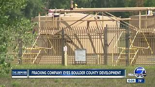 Fracking company eyes Boulder County development - Video