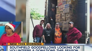 Southfield Goodfellows looking for volunteers and donations this holiday season - Video