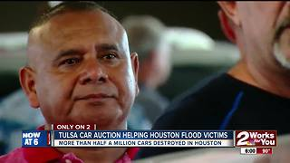 Record flooding, hurricanes putting cars on trucks to Texas