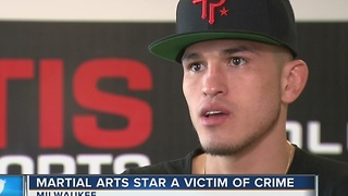 Local MMA fighter talks career, stake in hometown - Video