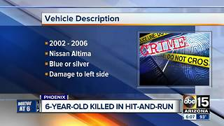 Reward offered for hit-and-run driver that killed 6-year-old - Video