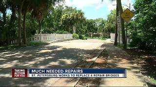 Bridges recommended for replacement in St. Pete - Video