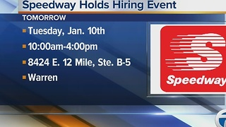 Workers Wanted: Speedway holds hiring event - Video