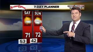13 First Alert Weather for December 1 2017 - Video