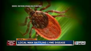 Local man battling Lyme Disease searches for relief - Video