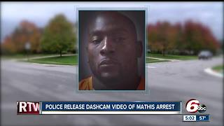 Robert Mathis DUI arrest video shows a failed sobriety test, drowsiness - Video
