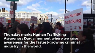 How One Republican Congressman Is Fighting Human Trafficking - Video