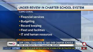 Cape Coral proposes to help charter schools save money over a 6-month duration - Video