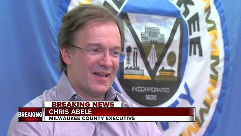 Milwaukee County Exec. Abele says he will not seek re-election