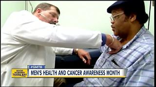 June is Men's Health and Cancer Awareness Month