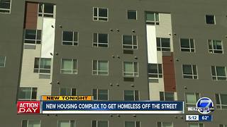 New permanent housing complex near Colfax now home for Denver homeless