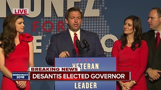 Ron DeSantis is the next governor of Florida