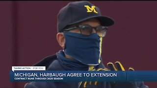Jim Harbaugh after signing extension at Michigan: 'We have a plan'