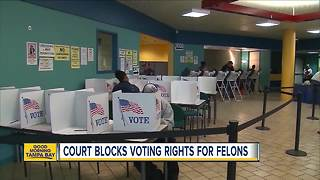 Federal court sides with Florida in voting rights battle - Video