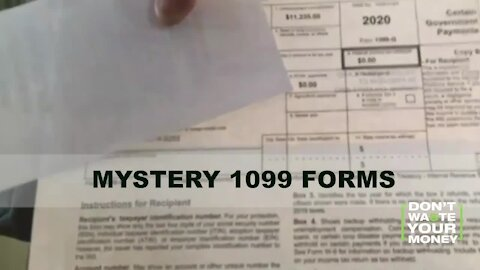 Mystery 1099 Tax Forms in Mail