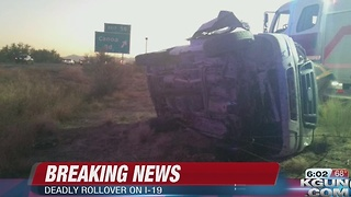 Rollover near Green Valley leaves 2 dead