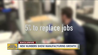 Manufacturers in Northeast Ohio report growth, open positions