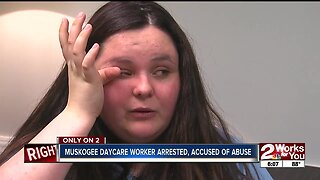 Muskogee daycare worker arrested, accused of abuse