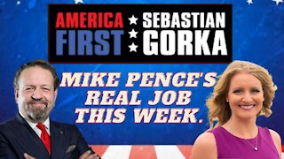 Mike Pence's real job this week. Jenna Ellis with Sebastian Gorka on AMERICA First