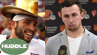 Is Baker Mayfield the NEXT Johnny Manziel? -The Huddle - Video