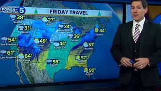 Holiday Travel and the weather - Video