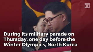 NK Military Parade Makes One Embarrassing Thing Clear - Video