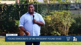 Young Democrats of Maryland president missing, found dead in D.C.