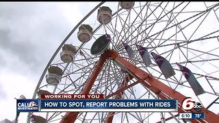 How to spot, report problems with fair rides - Video