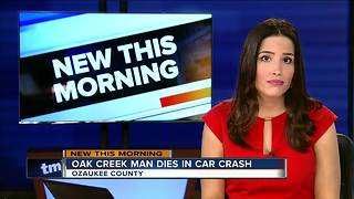 4 car crash causes lane closures - Video