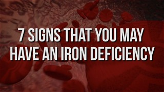 7 Signs That You May Have an Iron Deficiency