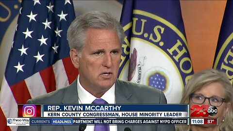 Rep. Kevin McCarthy defends President Trump over tweets