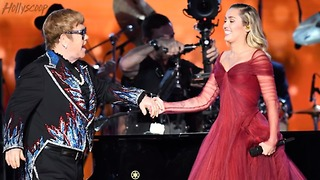Miley Cyrus Performs With Sir Elton John; First Time Since Taylor Swift | 2018 Grammys