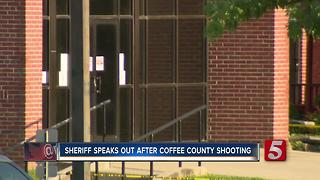 Sheriff Speaks Out After Coffee County Shooting