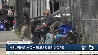 Local advocate addresses rise in homeless seniors