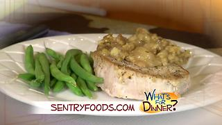 What's for Dinner? - Apple Pork Chops with Stuffing - Video