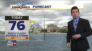 Rain and storm chances today - Video