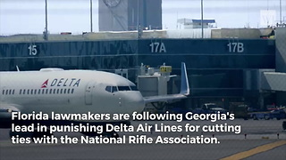 First Georgia Now Florida Hitting Anti-NRA Delta Airlines With Brutal News