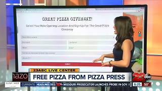 New restaurant and free pizza - Video