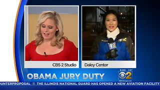 Former President Obama To Report For Jury Duty - Video