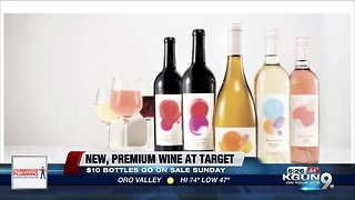 Target offering premium wine for $10 a bottle