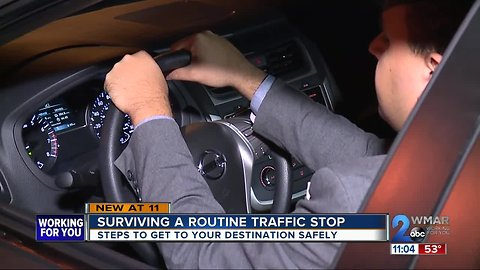 Surviving a routine police traffic stop