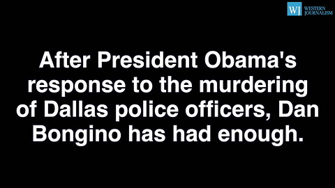 Fmr. Secret Service Agent - My Law Enforcement Friends And I Are Done With President Obama