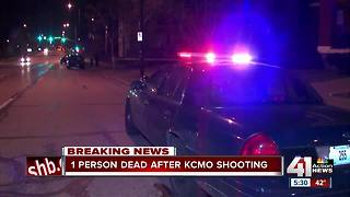 1 dead after shooting in KCMO - Video