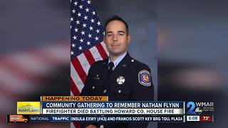 Viewing for fallen firefighter Nathan Flynn