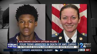 16-year-old charged with murder after killing Baltimore County officer in Perry Hall - Video