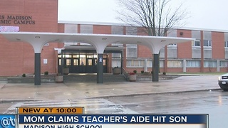 Teacher's aide accused of hitting student with special needs - Video