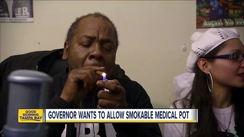 DeSantis wants ban on smokeable medical pot ended in Florida