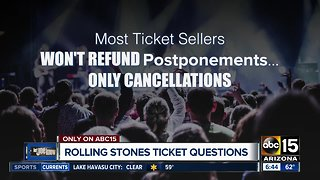 What's next for Rolling Stones ticket holders?