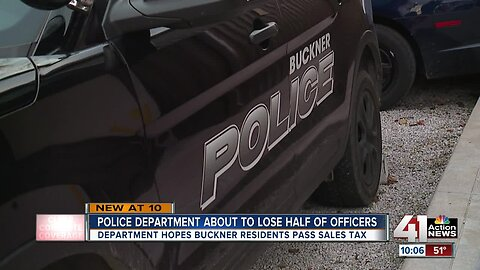 Buckner hopes sales tax will bolster police force